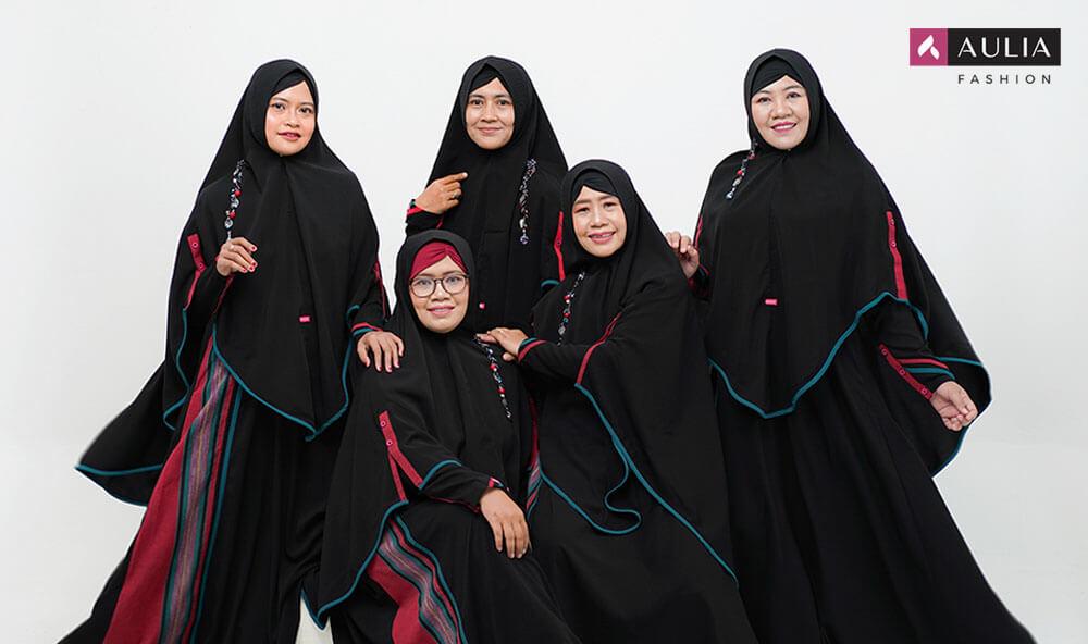 Gamis tenun sultan by Aulia Fashion