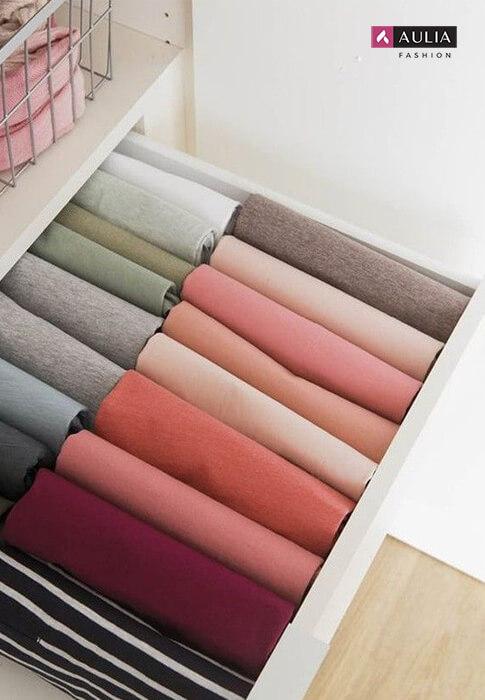 cara menata baju di koper - tips Aulia Fashion 2
