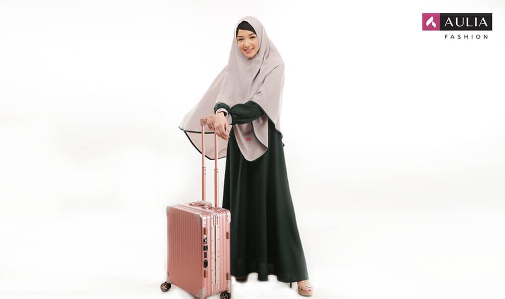 cara menata baju di koper - tips Aulia Fashion