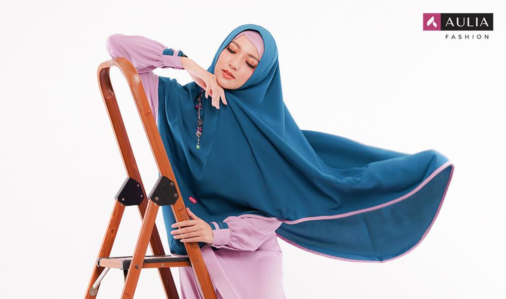 tips memilih baju muslim syari - gamis Aulia Fashion