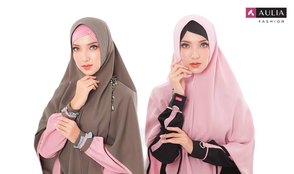 warna jilbab yang wajib dimiliki - jilbab syar'i Aulia Fashion