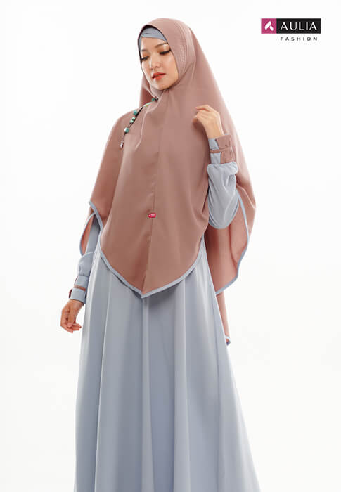 padupadan gamis warna choco by Aulia Fashion (4)