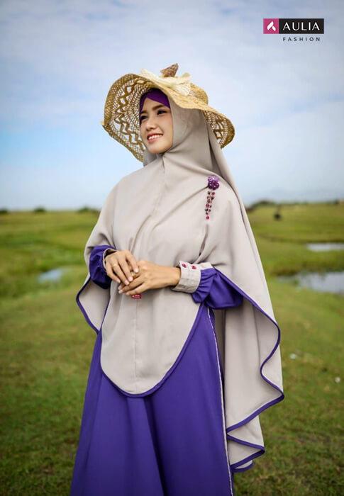 style hijab memakai topi - blog Aulia Fashion 3