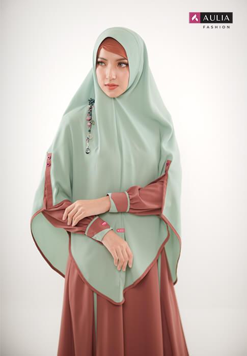 karakteristik gamis bahan wollycrepe by Aulia Fashion 8