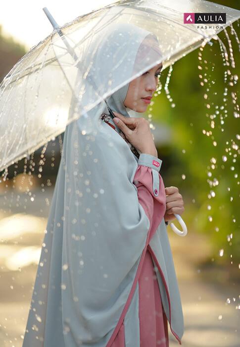 tips photoshoot dengan gamis aulia fashion 3