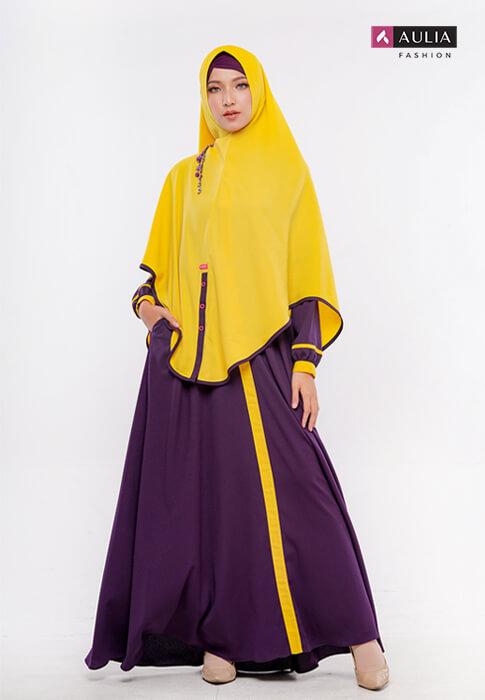 gamis warna bold - by Aulia Fashion 1