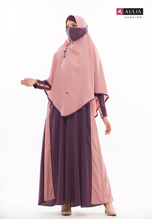 gamis warna bold - by Aulia Fashion 4