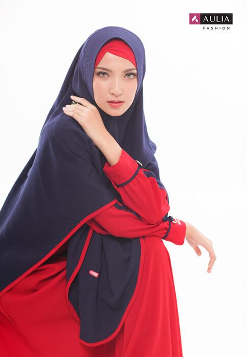gamis warna bold - by Aulia Fashion 5