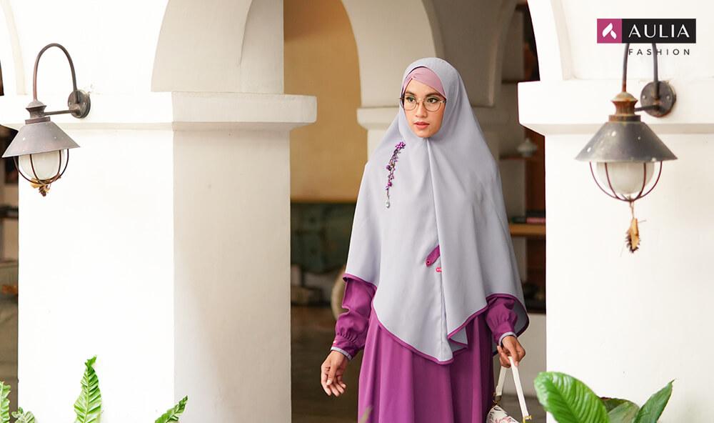 gamis warna bold - by Aulia Fashion