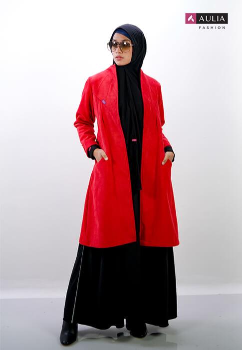 perpaduan warna cerah ceria gamis Aulia Fashion 4