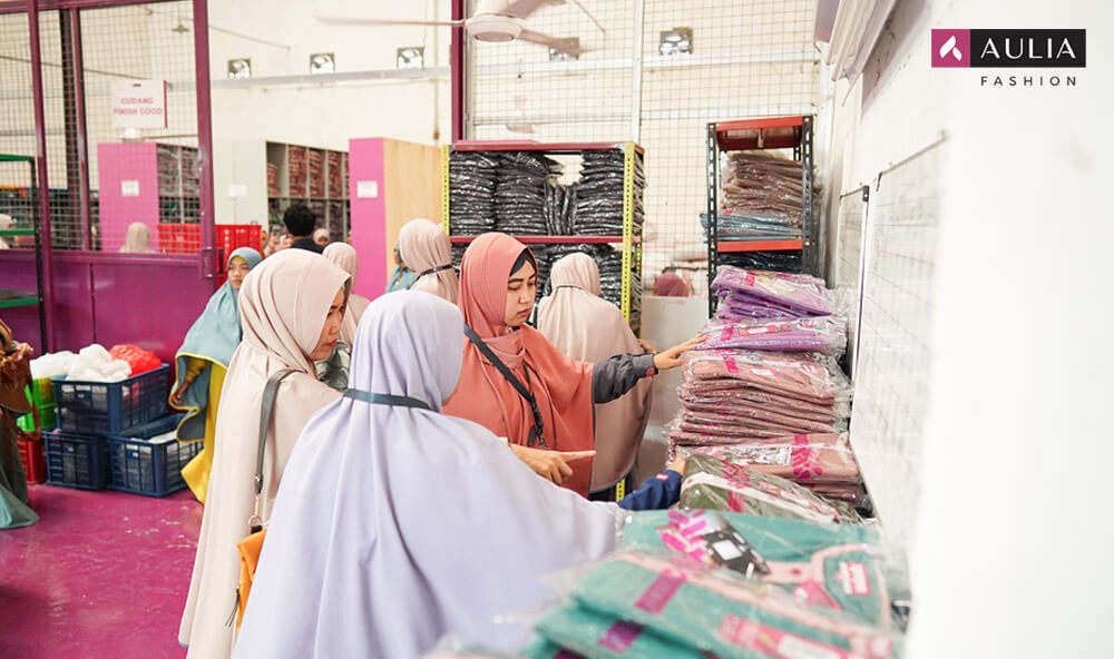 pusat grosir baju muslim - aulia fashion 5